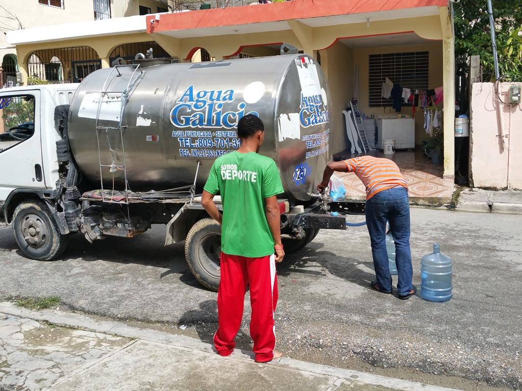 [도미니카공화국] 물차에서 생수 구매