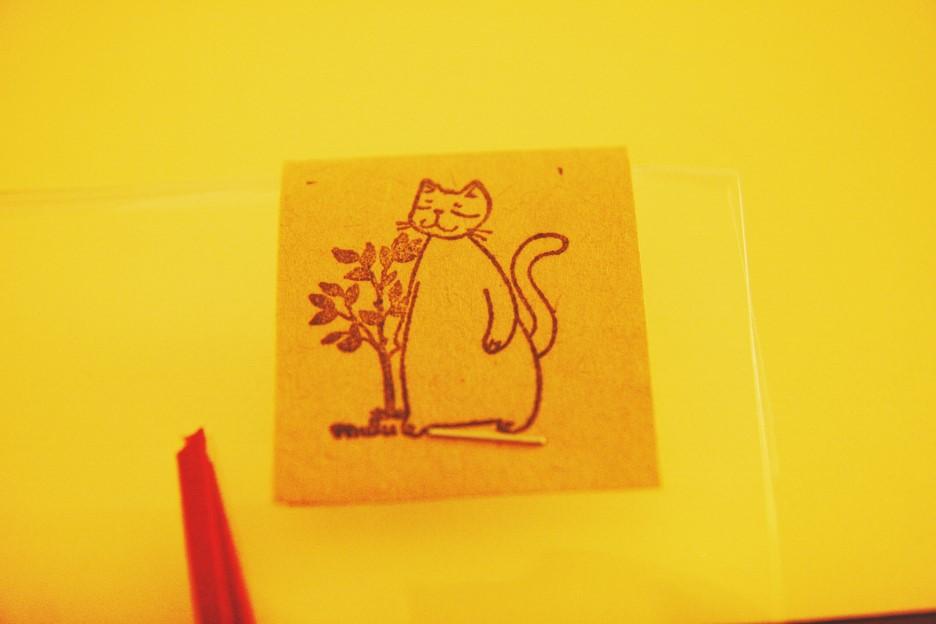 고양이가 좋아서 구입한 핸드메이드 북마커