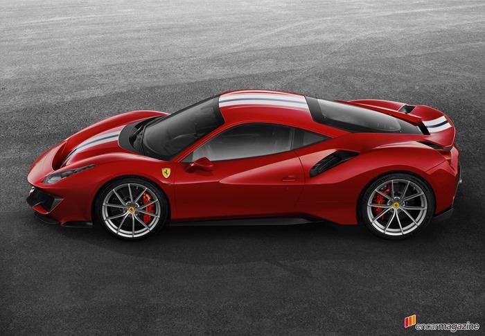 페라리 V8 스페셜 씨리즈의 최신작, 488 피스타(Pis..
