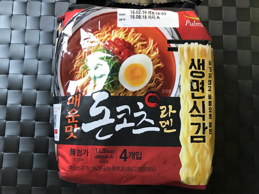 매콤한 그 맛, [풀무원]생면식감 매운맛 돈코..
