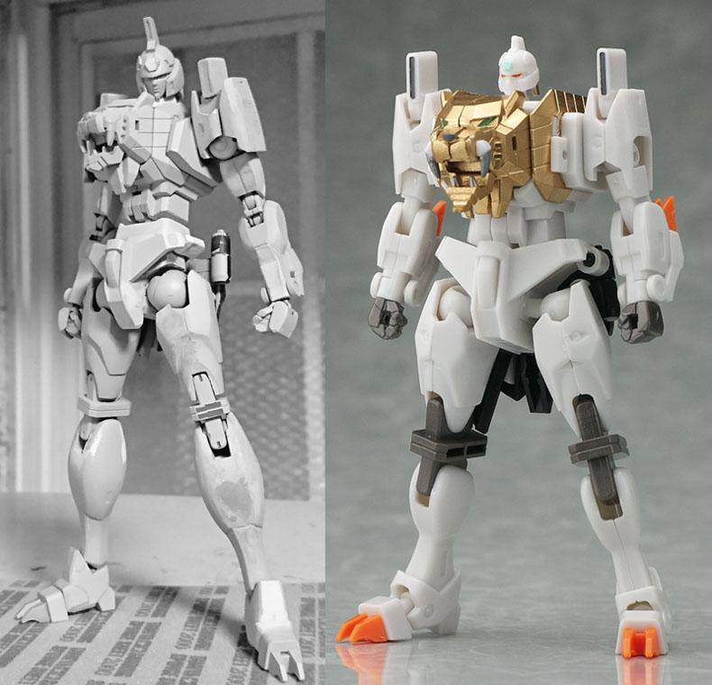 용자 시리즈 로봇 디자인의 怪