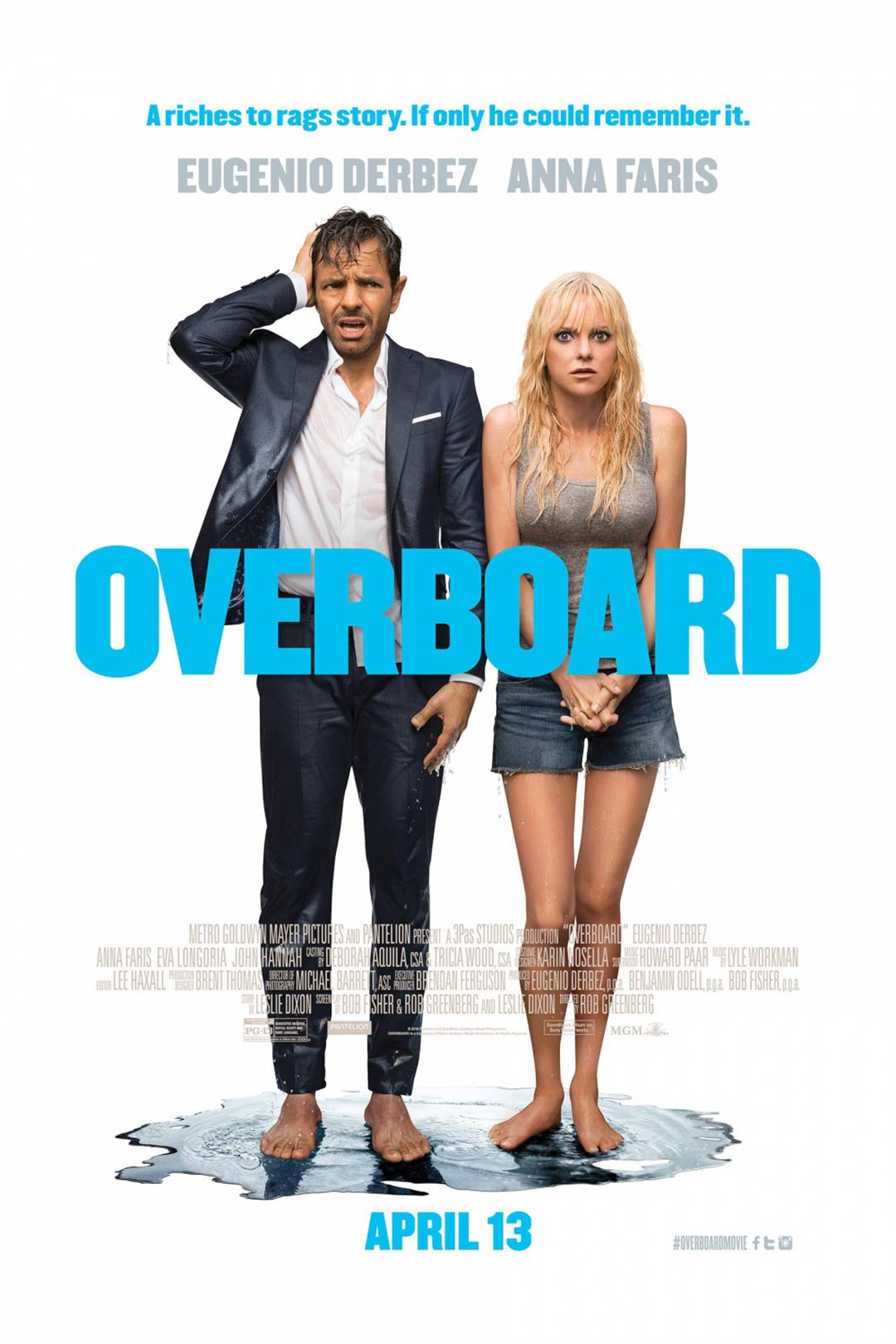 """""""Overboard"""" 라는 작품입니다."""