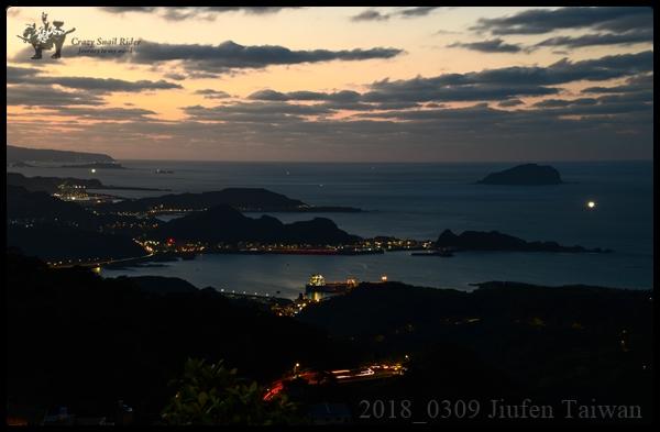 조펀의 밤 풍경