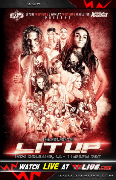 "Beyond Wrestling ""Lit Up"" 리포트"