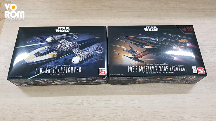 1/72 POE'S BOOSTED X-WING FIGHTER -작업중-