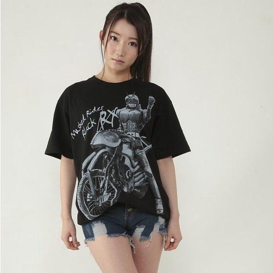 특촬 드라마 '가면라이더 BLACK RX'의 티셔츠 발매..
