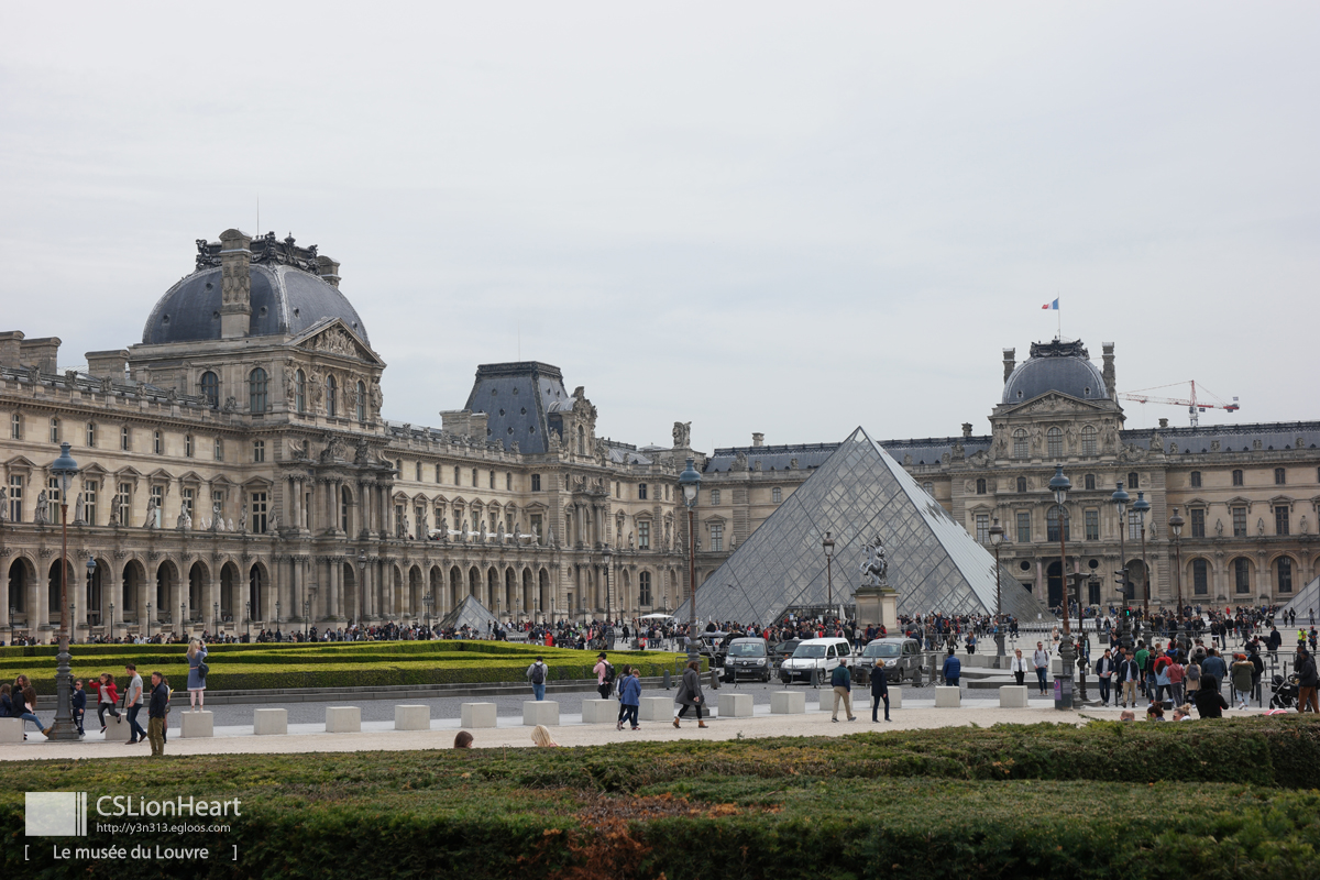 2018 프랑스 - 바토버스를 이용한 파리 여행 (루브..