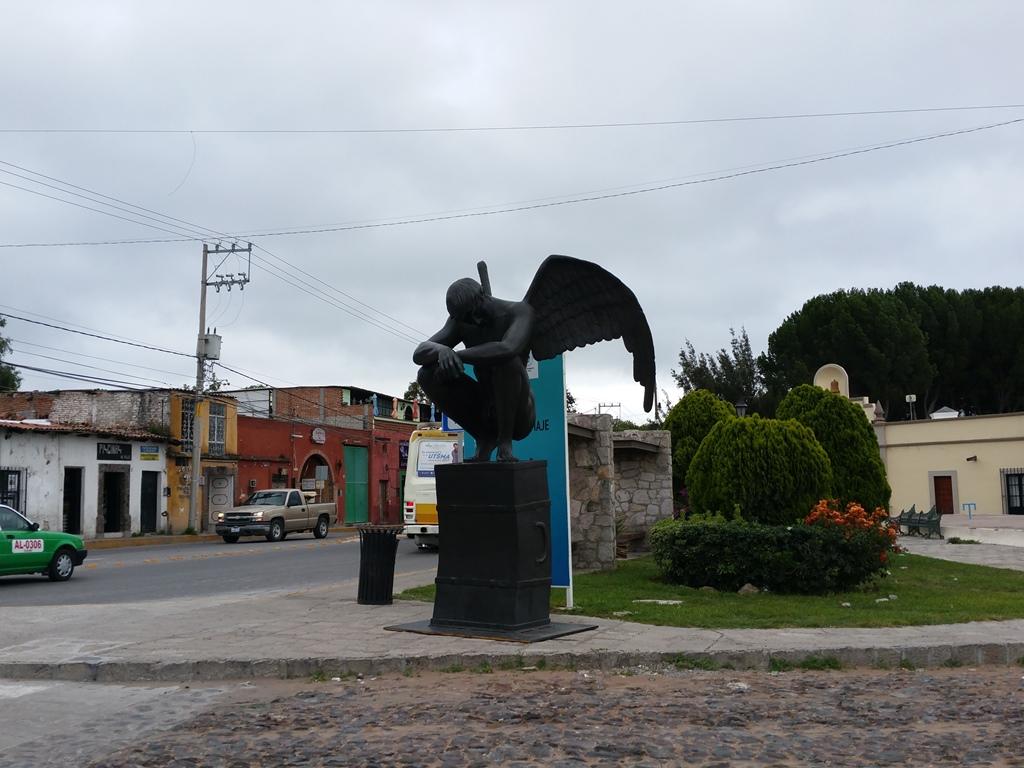 [멕시코] 시내 초입의 조각 공원