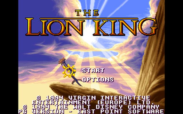 [DOS] 라이온 킹 (The Lion King.1994)