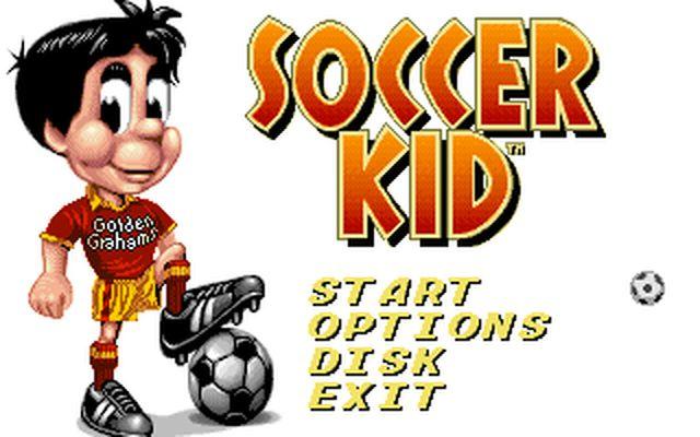[DOS] 사커 키드 (Soccer Kid.1993)