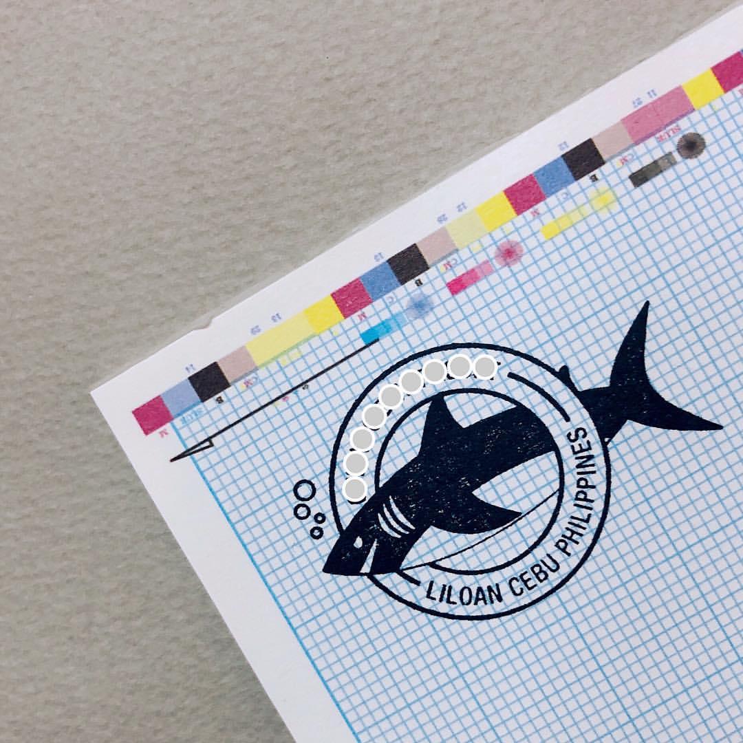 상어 로그북 스탬프