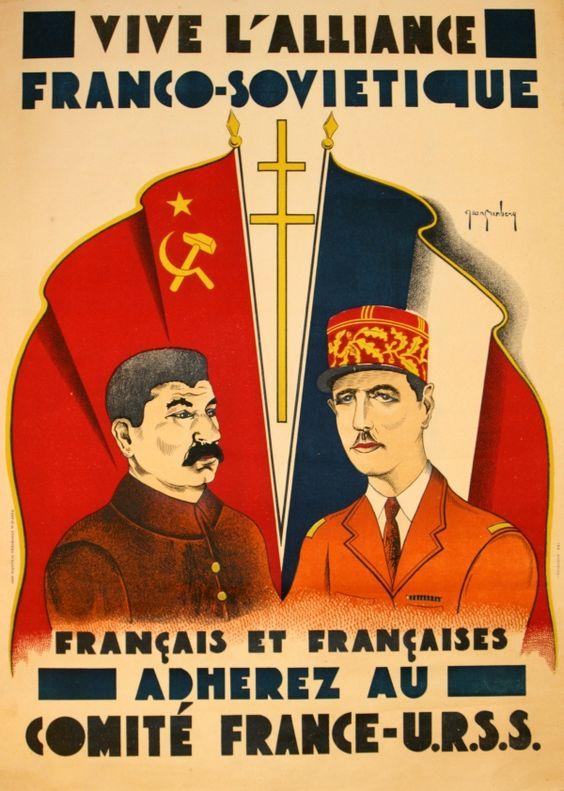 """[55년]""""소련은 친 親-프랑스 세력이었나?"""""""