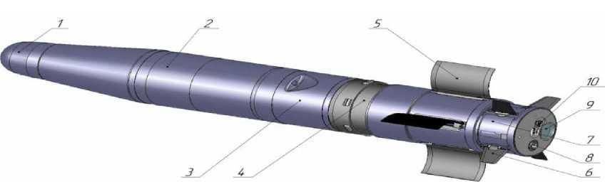 누델만 설계팀의 대전차 미사일