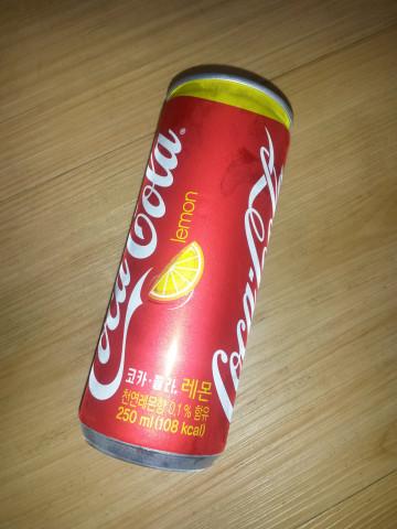 코카콜라 레몬