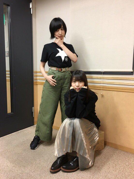 성우 사쿠라 아야네 & 오오니시 사오리의 사진, 라..