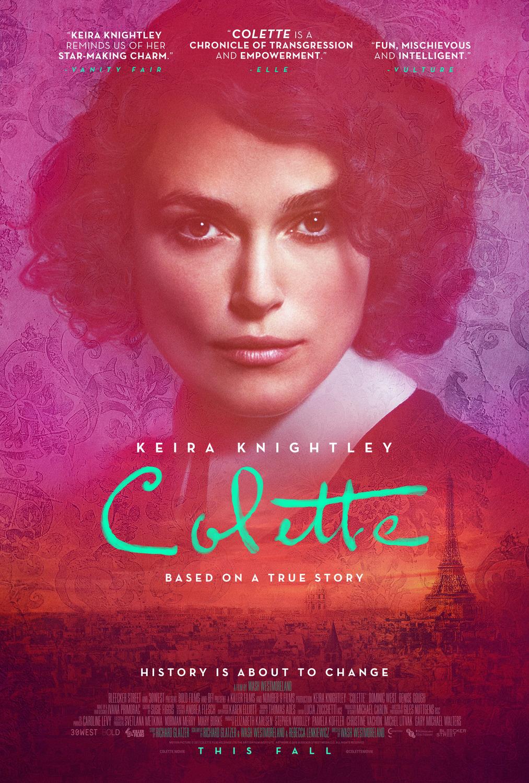 """키이라 나이틀리 신작, """"Colette"""" 입니다."""