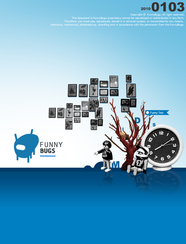 funnybugs powerpoint design