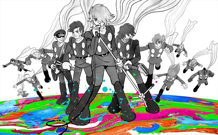 '사이보그009'와 일본의 록밴드 'T-BOLAN' 콜라..