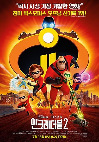 인크레더블 2 (Incredibles 2, 2018)