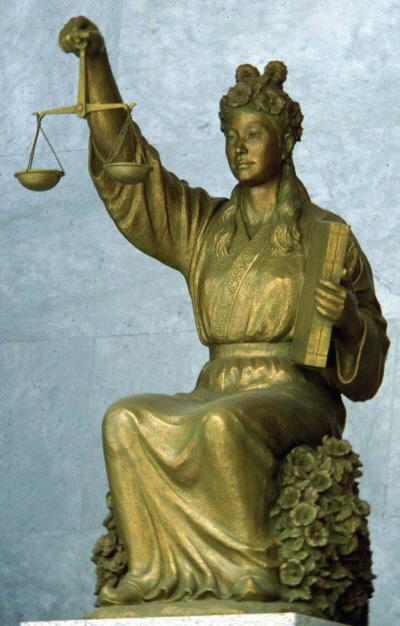 정의의 여신상에 대한 국내의 오해 (1/3)