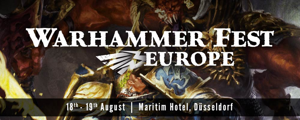 Previously on Warhammer Fest Europe Part 1