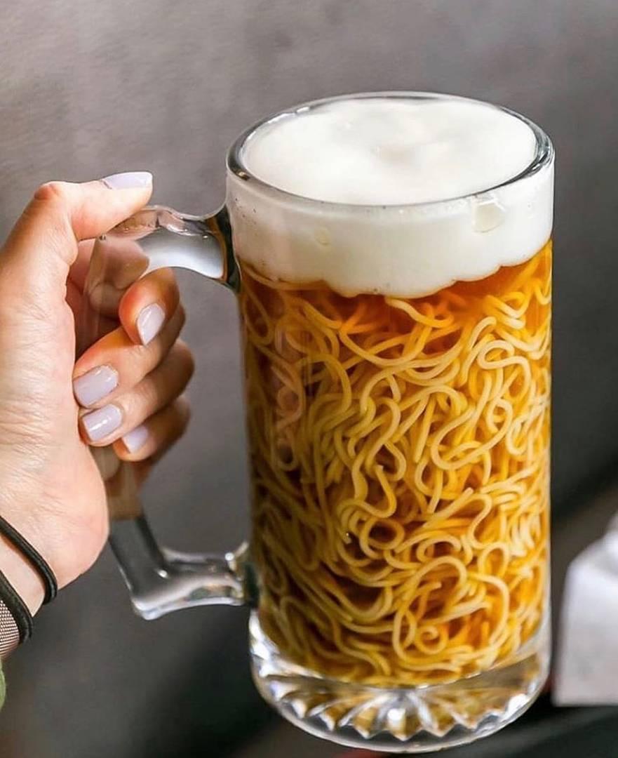 맥주 라면을 즐겨보시겠습니까?