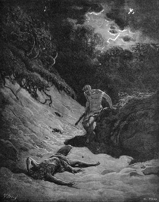 신화 속의 땅들 - 1. 최초의 살인이 벌어지다