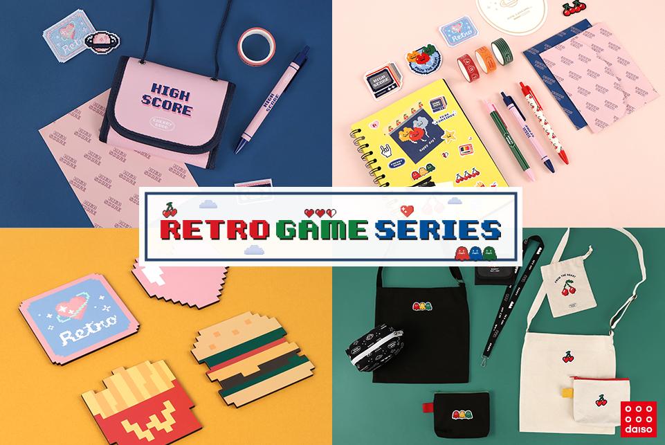 다이소 레트로 게임 시리즈를 (몇 개만) 사보았다!