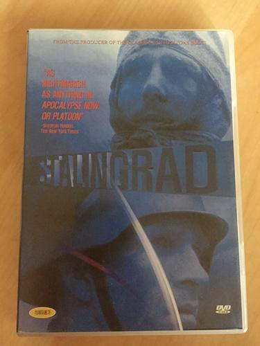 """""""스탈린그라드"""" DVD를 샀습니다."""